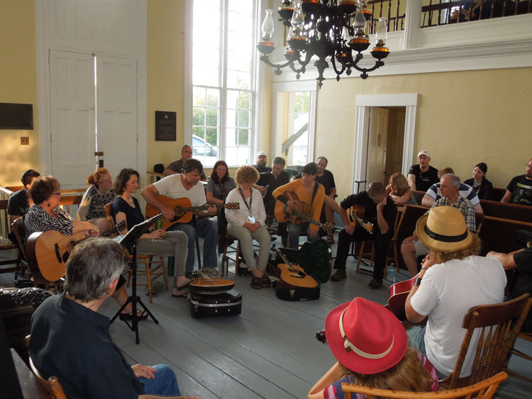 Sherbrooke Village: Road to Stanfest Song Writers Camp