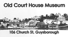 Visit Guysborough - Historical Society Ad